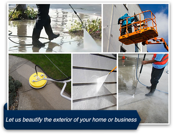 Pressure Washing : Office Cleaning Services